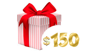 Free Gifts for $150+