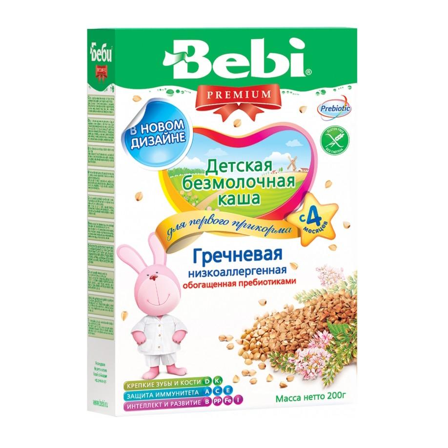 Bebi Premium Low-Allergenic Buckwheat Porridge without Milk, 7.05 oz / 200 g