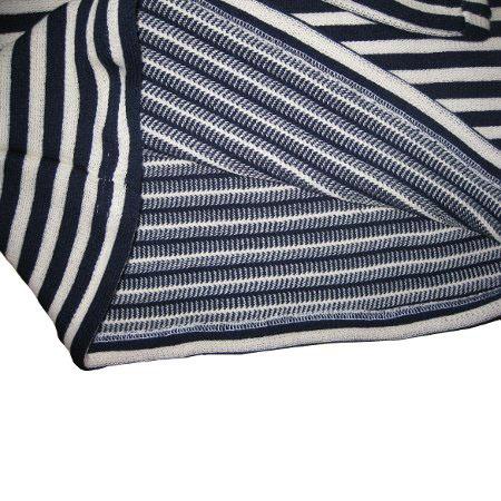 Winter Wool Double Thick Russian Marine Telnyashka Shirt, size 46 (European S)