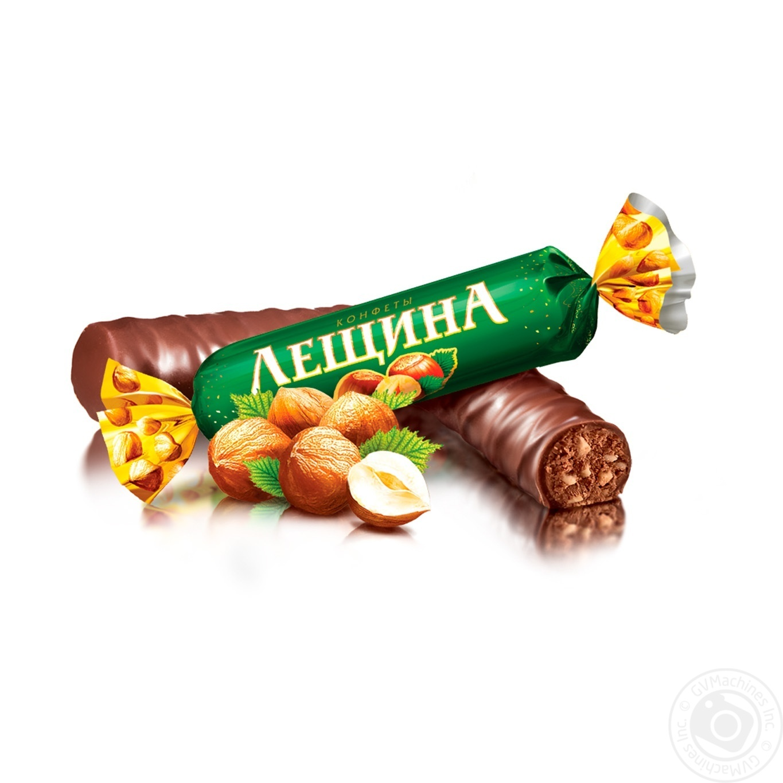 Ukrainian Chocolate Candy Leshchina, Roshen, 1 kg/ 2.2 lb