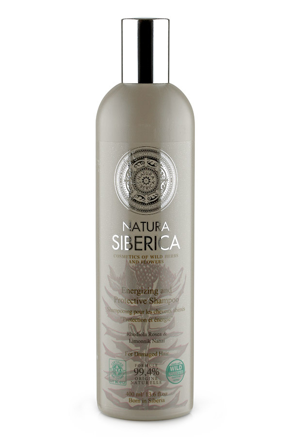 "Hair Shampoo ""Protection & Energy"" for Tired and Weak Hair with Rhodiola Rosea, Schisandra"