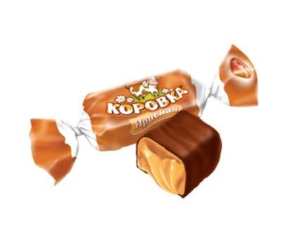 """""""Korovka"""" glazed taffy taste."""