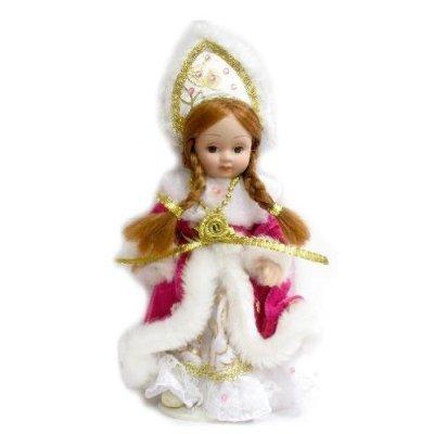 Porcelain Doll in a Pink Coat, 6.5