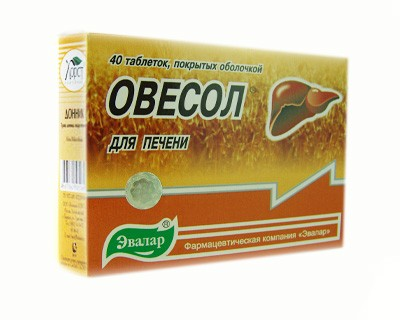 Ovesol - Herbal Mix Liver and Choleretic Tablets