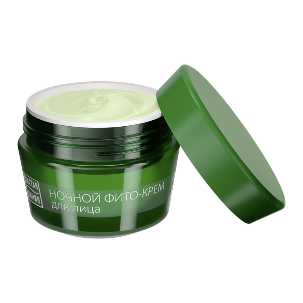 Night Face Phyto Cream with Spirea and Viburnum Extracts (60+), 1.52 oz/ 45 ml