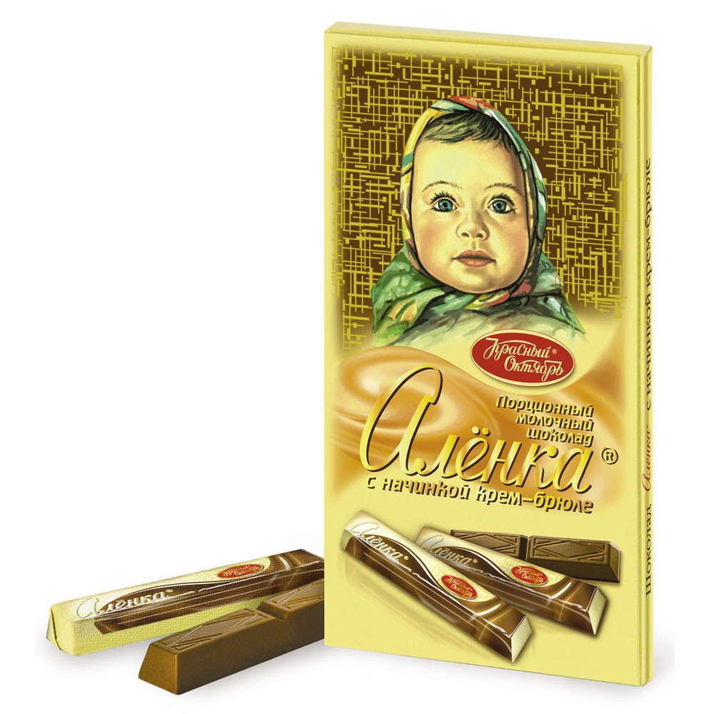 Alenka Aereated Milk Chocolate Sticks, 3.52 oz / 100 g