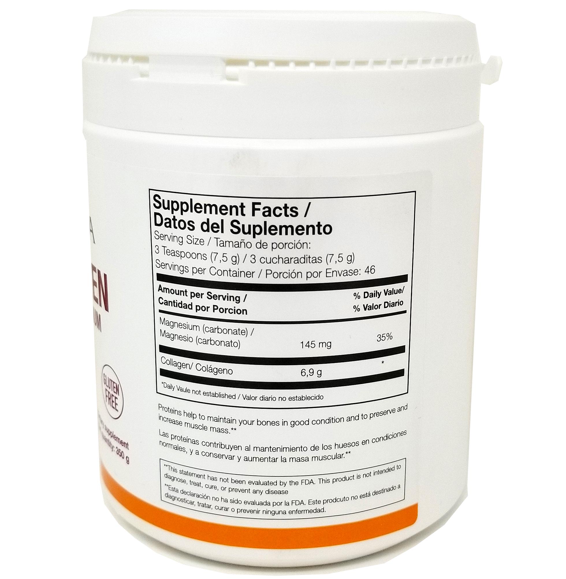 COLLAGEN with Magnesium Neutral Taste (350 g)