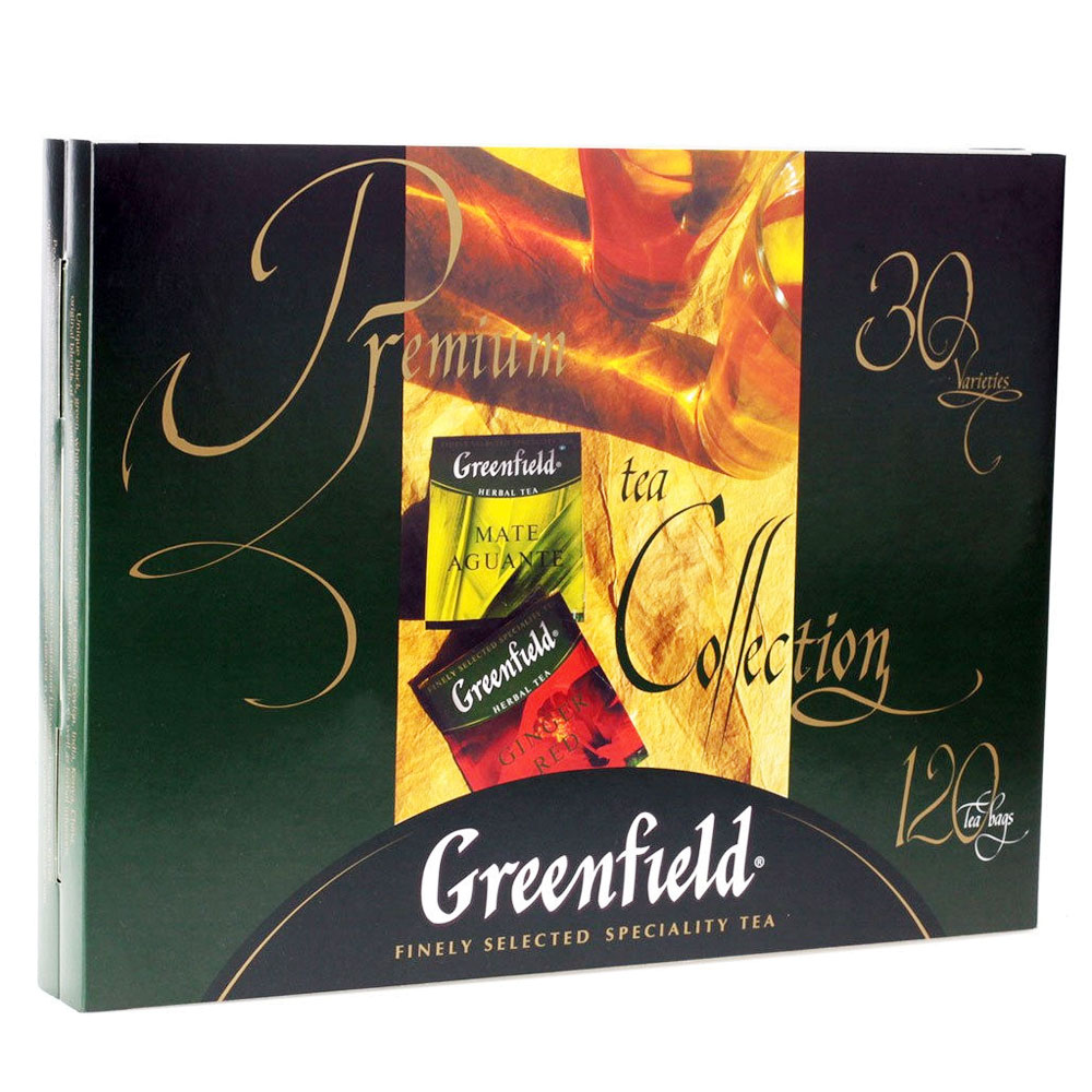 Greenfield Premium Tea Collection, 120 tea bags