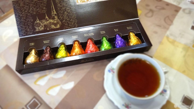 PROZIT Luxury Liquors Cream Chocolate Gift Box 180 G Christmas Edition/Laima