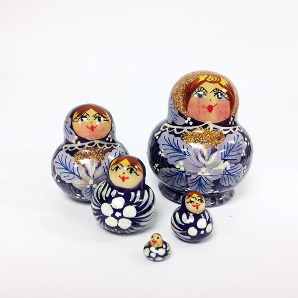 Exclusive Handmade Tiny Matryoshka