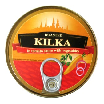 Kilka Roasted in Tomato Sause with Vegetables, 8.82 oz/ 250 g