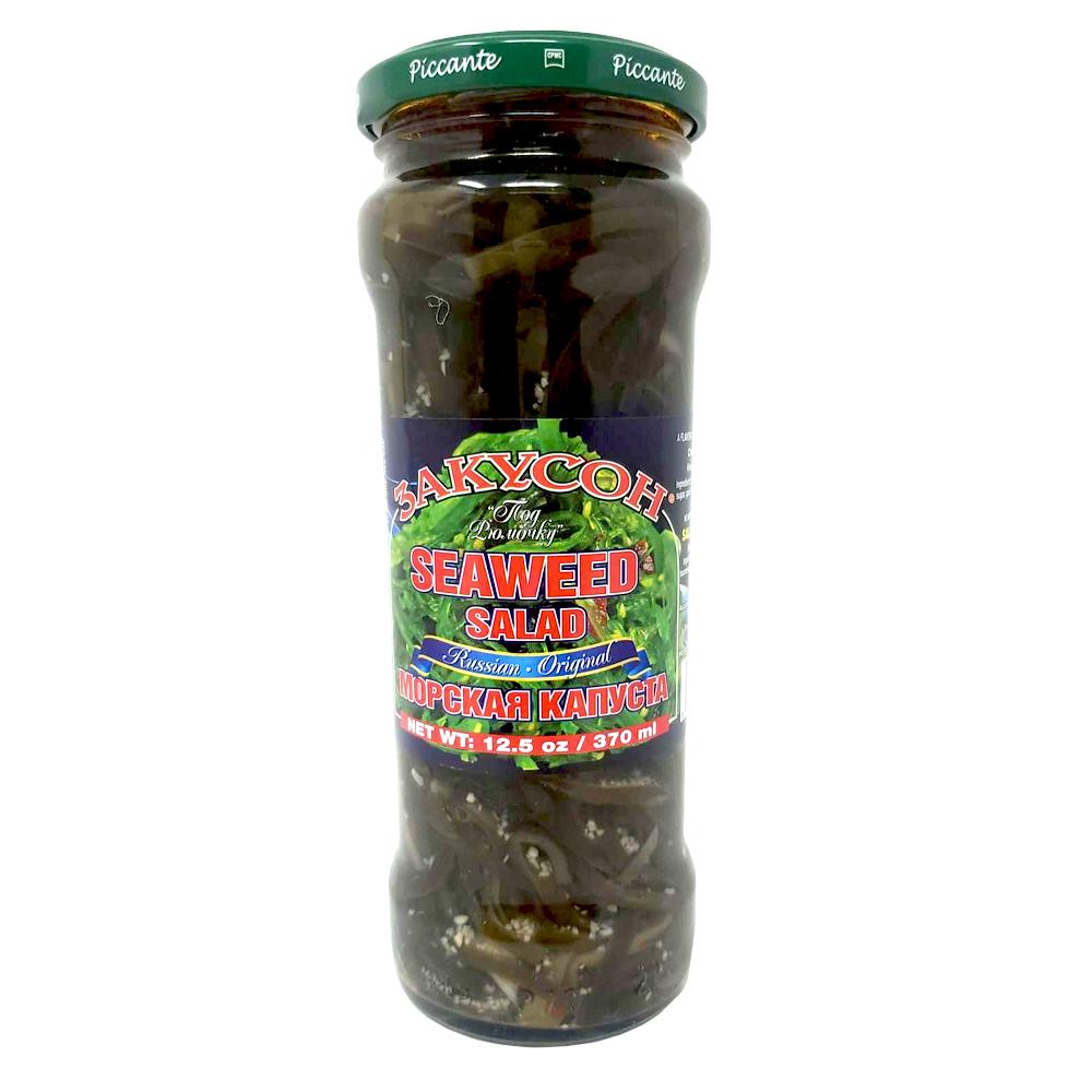 Seaweed Salad, Zakuson, 370 ml/ 12.5 oz