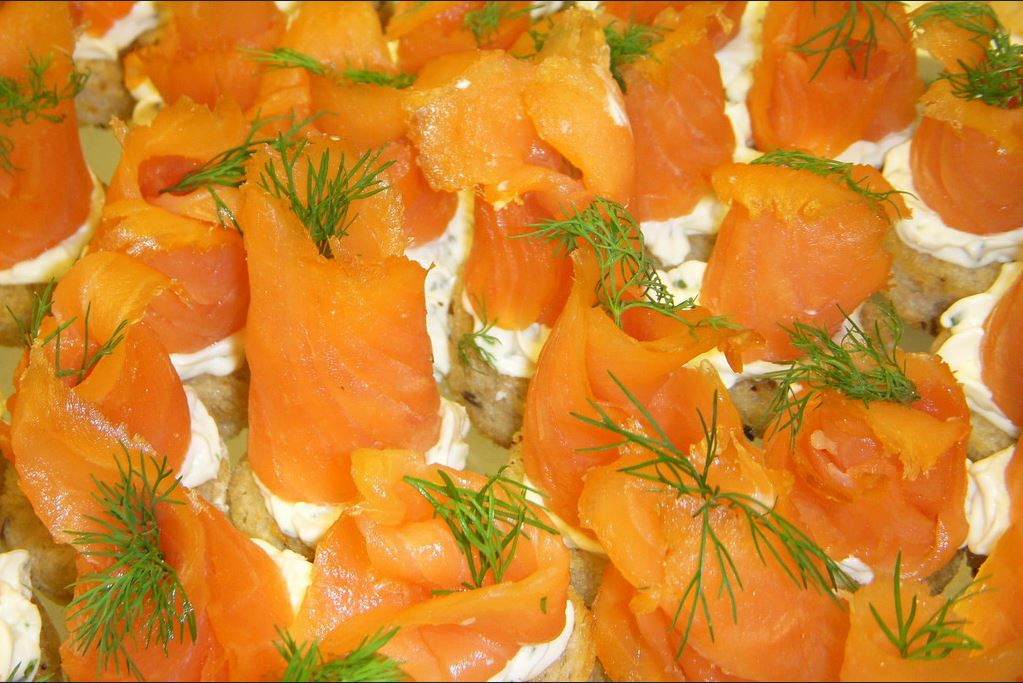 Semga/Salmon  lightly salted fillet-pieces 450 g
