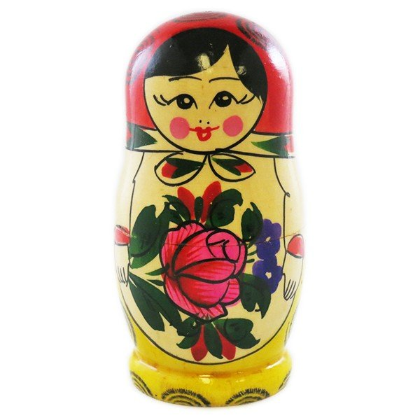 "Nesting Doll (Matryoshka) ""Semyonov's"" Russian Traditional Souvenir, 6 Pcs, Height - 5.5"""