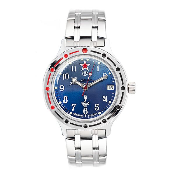 Vostok Amphibian Classic Russian Military Automatic Men's Watch (420289)