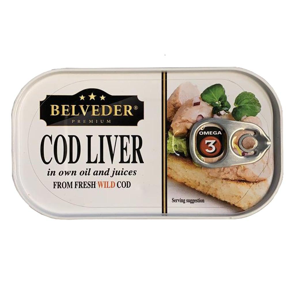 Cod Liver, 0.29lb/ 120g
