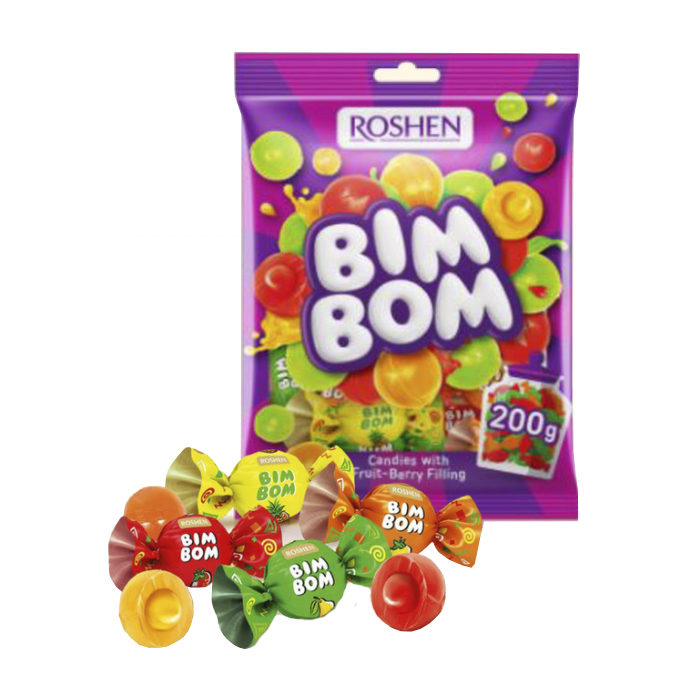 Caramel Bim Bom Roshen