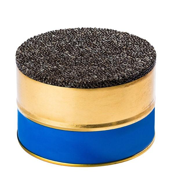 Osetra Sturgeon Black Caviar Not Pasteurized, 0.5 lb / 250 g