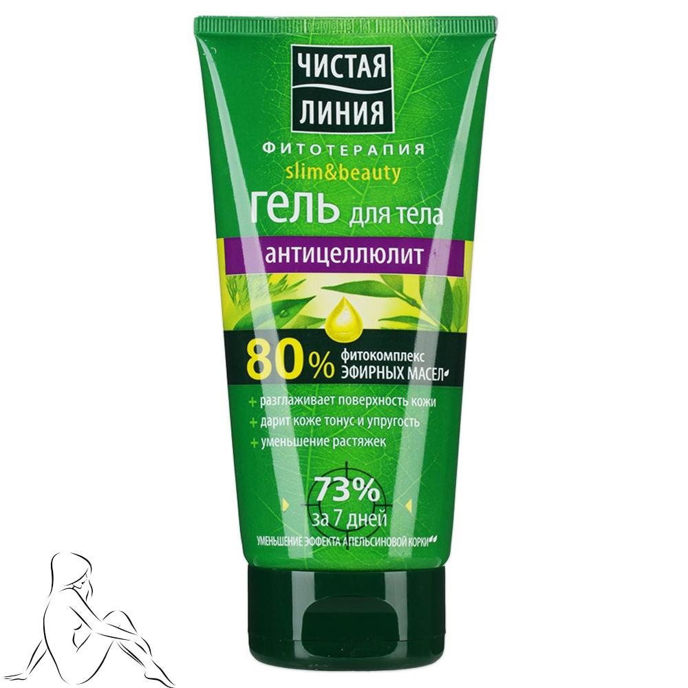 Anti-cellulite Body Gel Phytocomplex of Essential Oils, 6.76 oz / 200 Ml