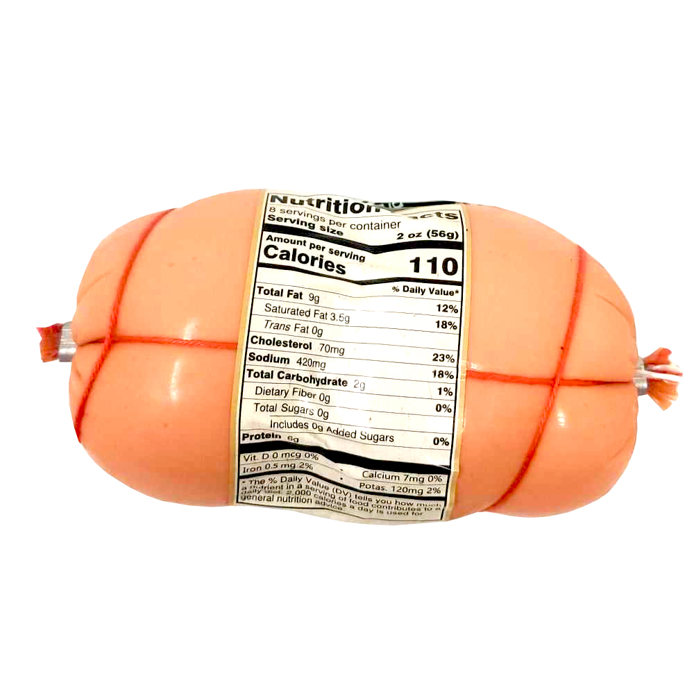 Krekanavos Lithuanian Pork Sausage «Boyarskaya», 454 gr/ 1 lb