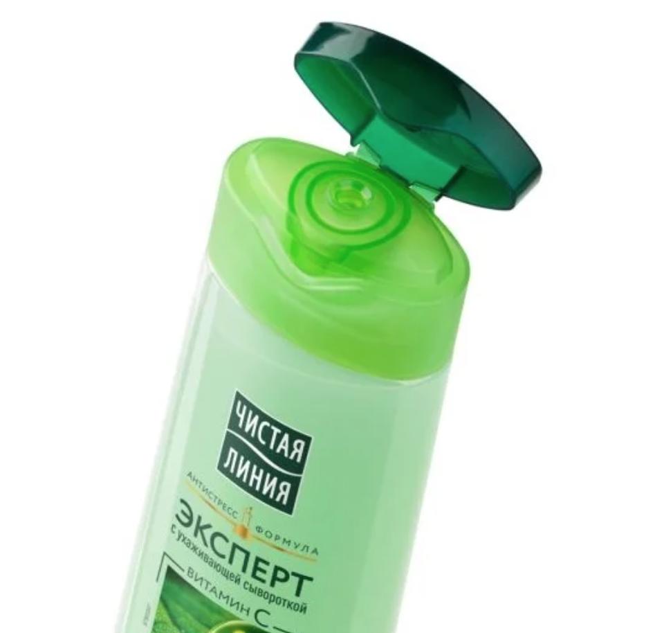 Expert Shampoo Freshness & Detox, Currant Leaves, Pure Line, 400 ml / 13.53 oz