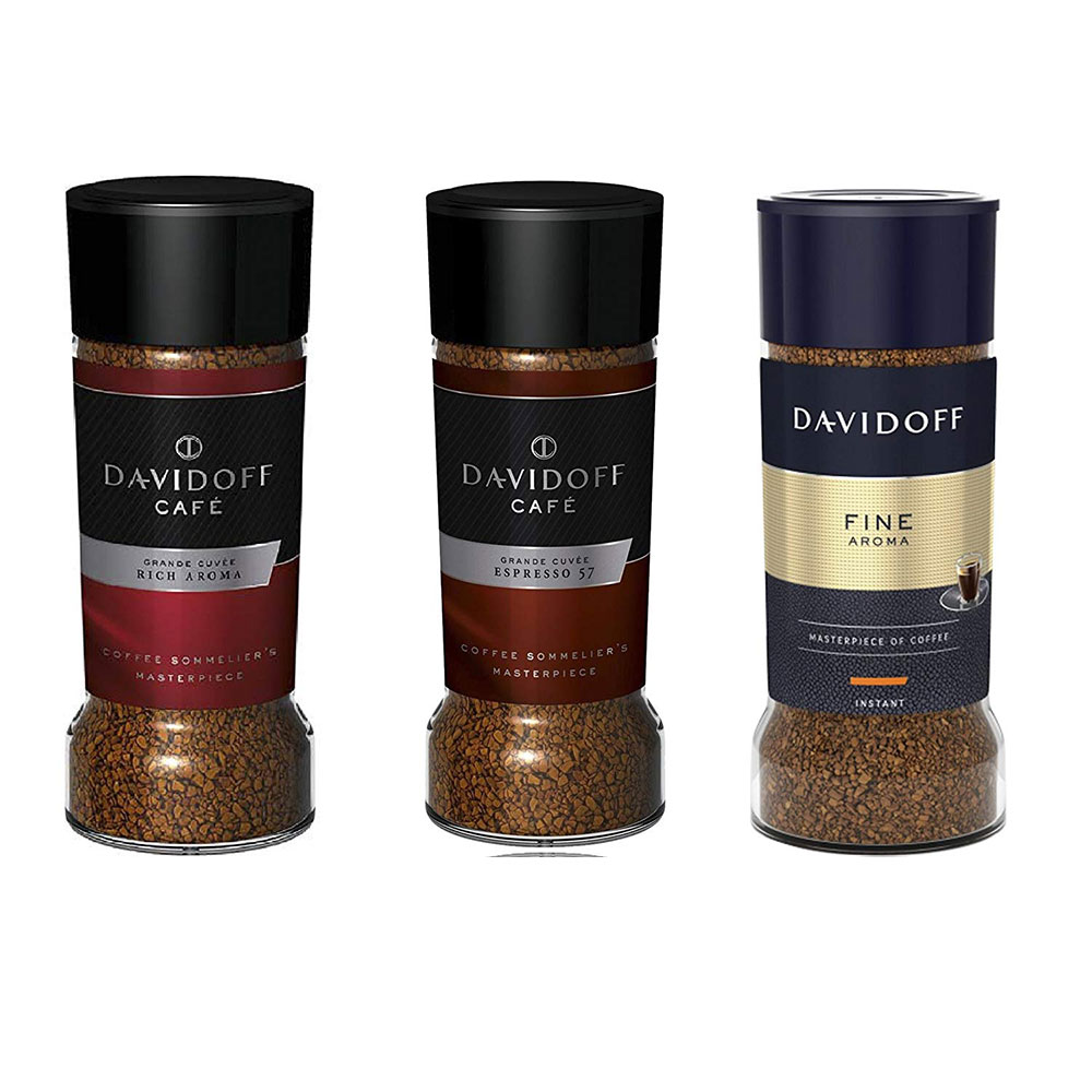 Davidoff Cafe 57 Espresso Dark Roast, 3.5 oz / 100 g