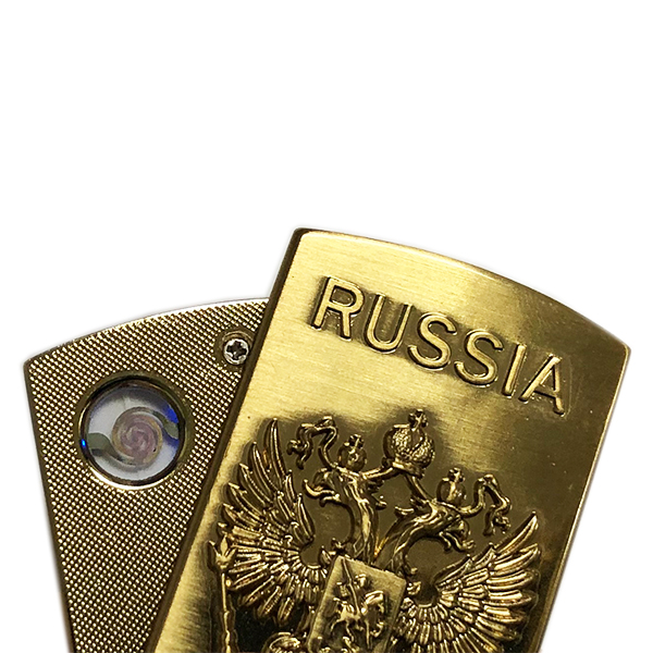 Electronic Lighter with Russian Federation Coat of Arms, 2.25