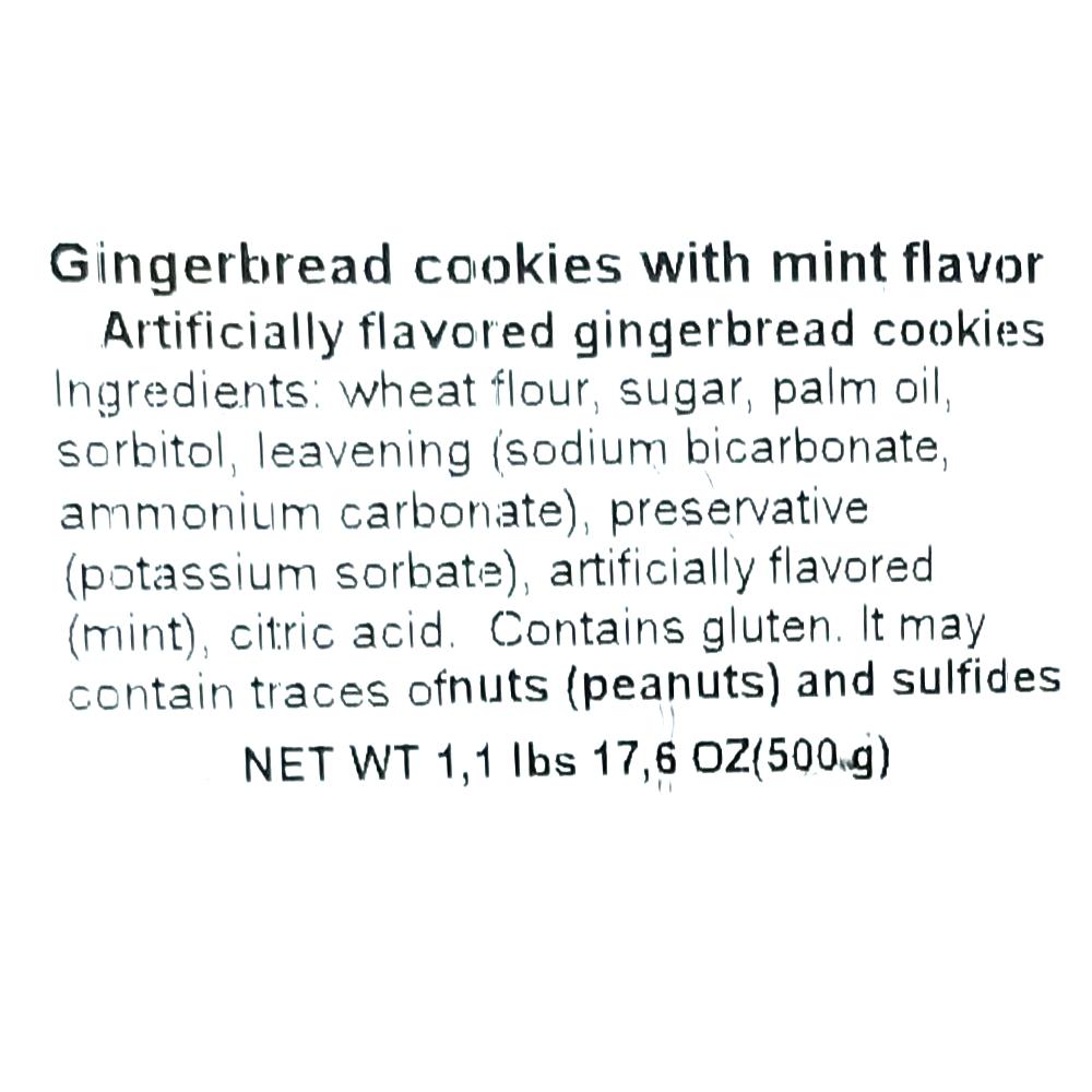 Mint Gingerbread