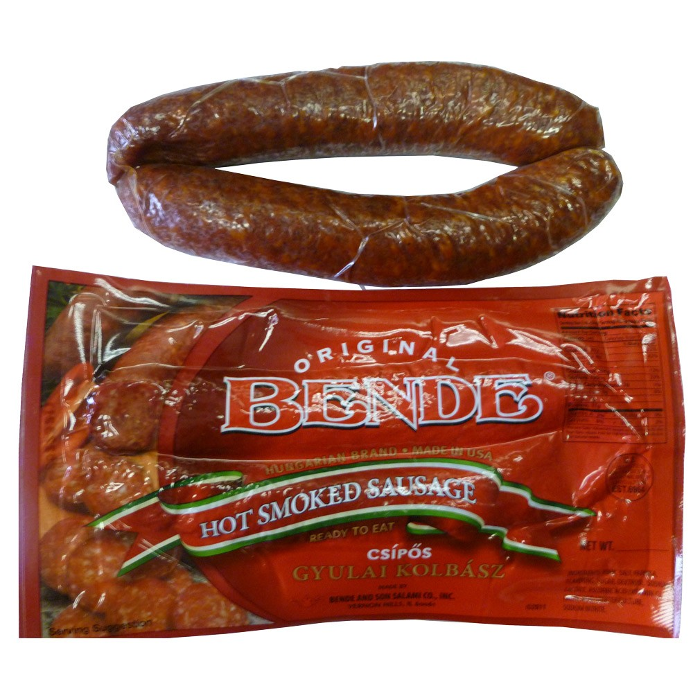 "Hot Smoked Sausage ""Gyulai"", 0.8 lb"