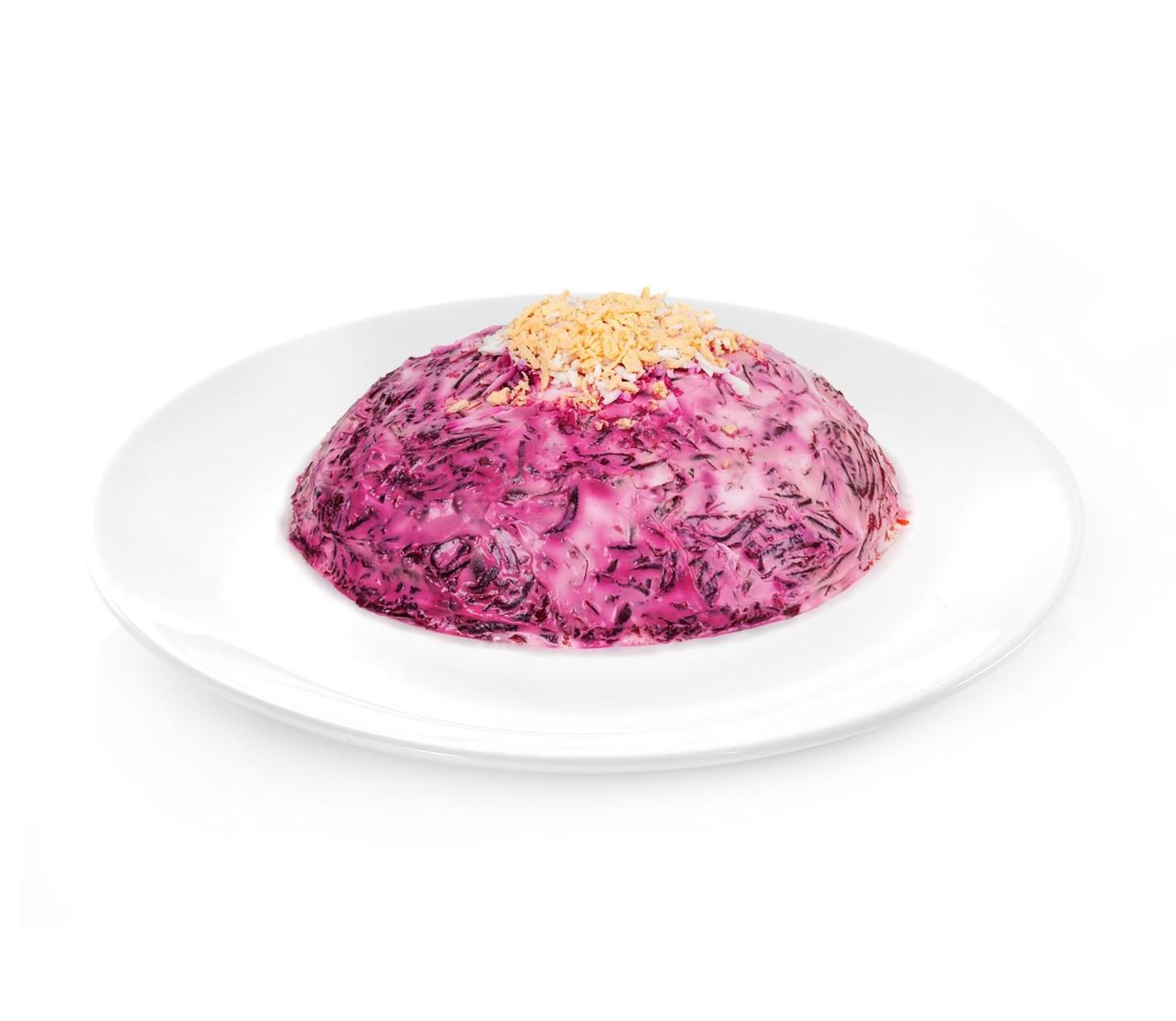 salad herring under fur coat 1 lb for sale buy online at russianfoodusa. Black Bedroom Furniture Sets. Home Design Ideas