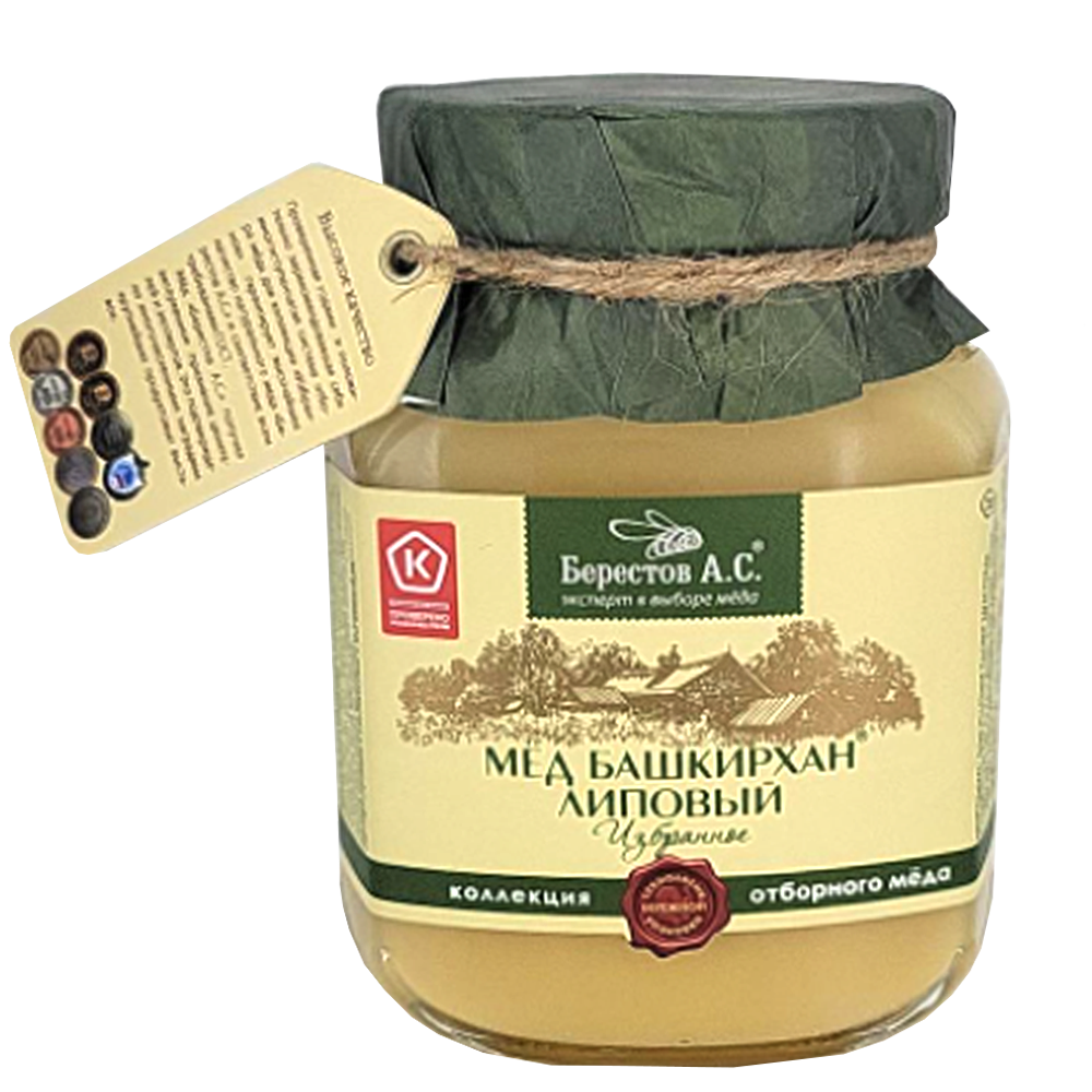 Natural Altai Linden Honey
