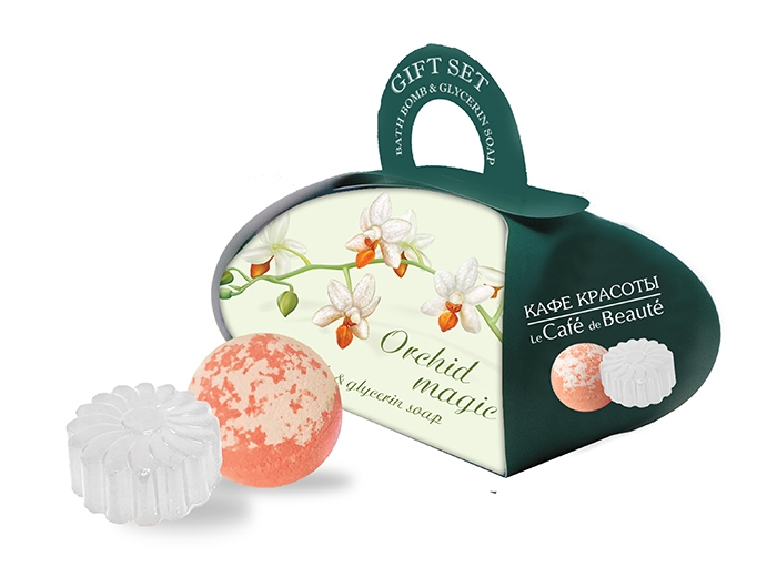 Glycerin Soap Bubble Bath Ball Gift set Orchid Magic