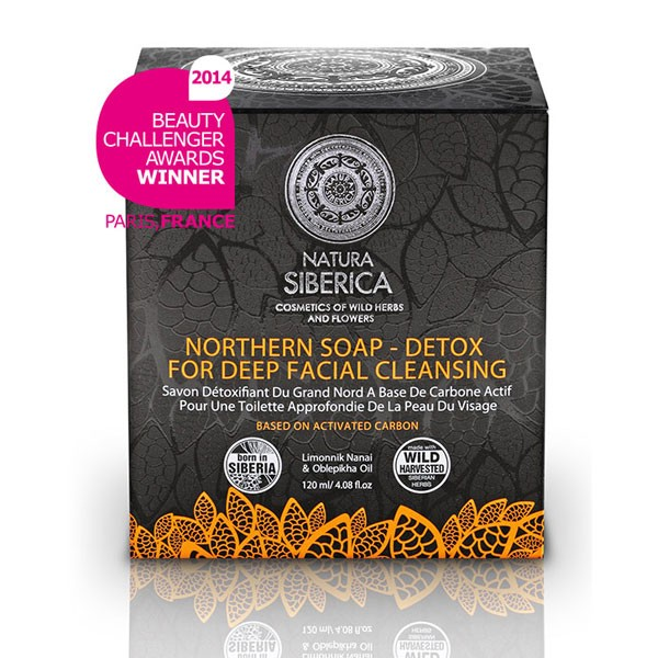 Northern Detox Soap for Deep Skin Cleansing, 4.23 oz/ 120 g