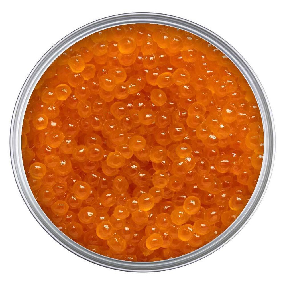Salmon Red Caviar (Tin Can), Red Pearl, 1 lb / 454 g