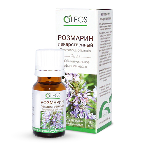 Rosemary Essential Oil, 0.3 oz / 10 Ml