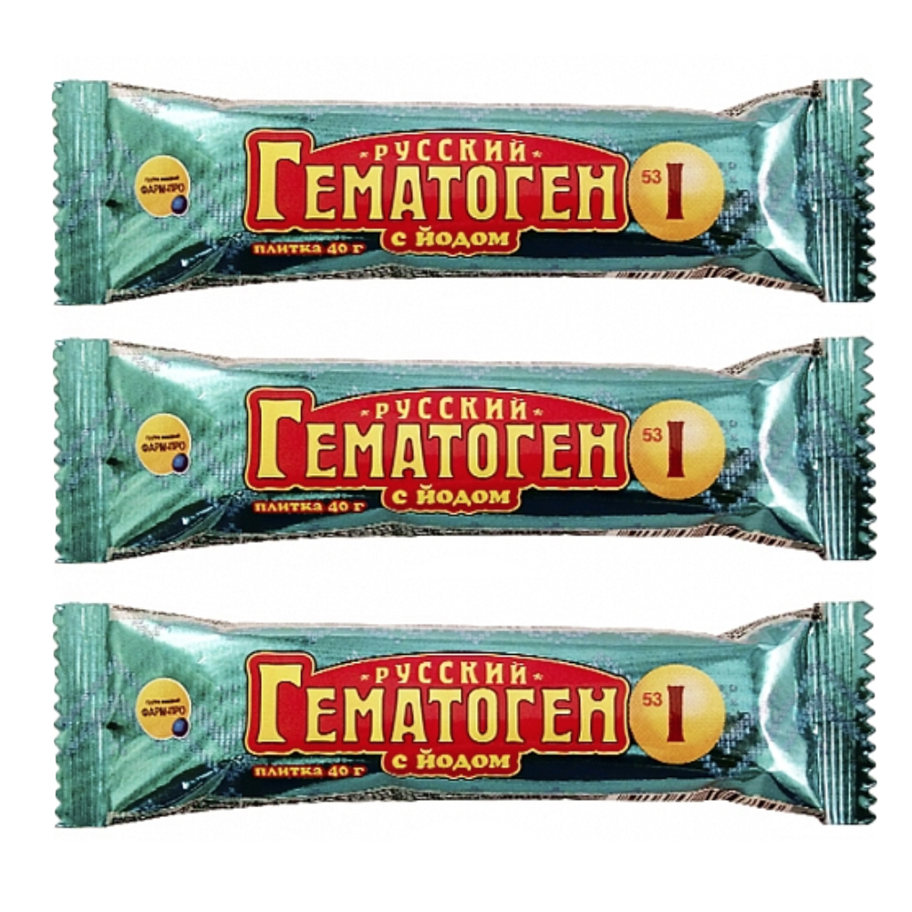 Pack of 3 Hematogen