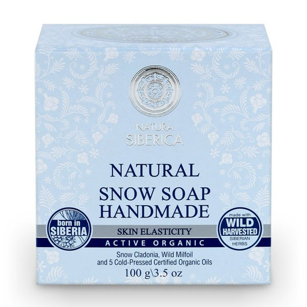 100% Natural Snow Soap Handmade