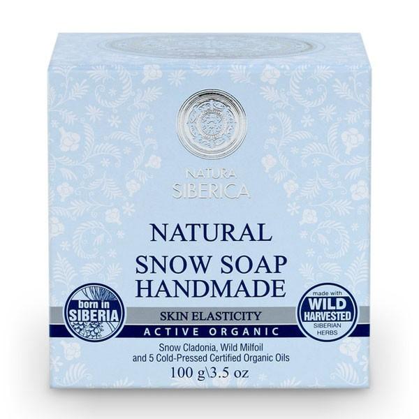 100% Natural Snow Soap Handmade