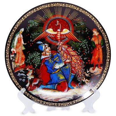 "Decorative Plate ""Firebird"""