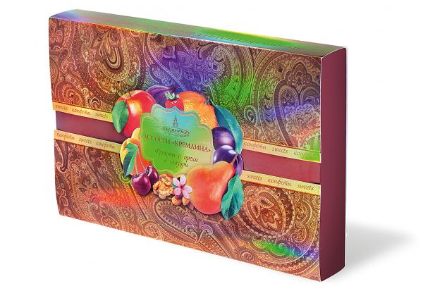 """Assorted chocolates """"Fruits and nuts in chocolate"""" KREMLINA, 500g"""