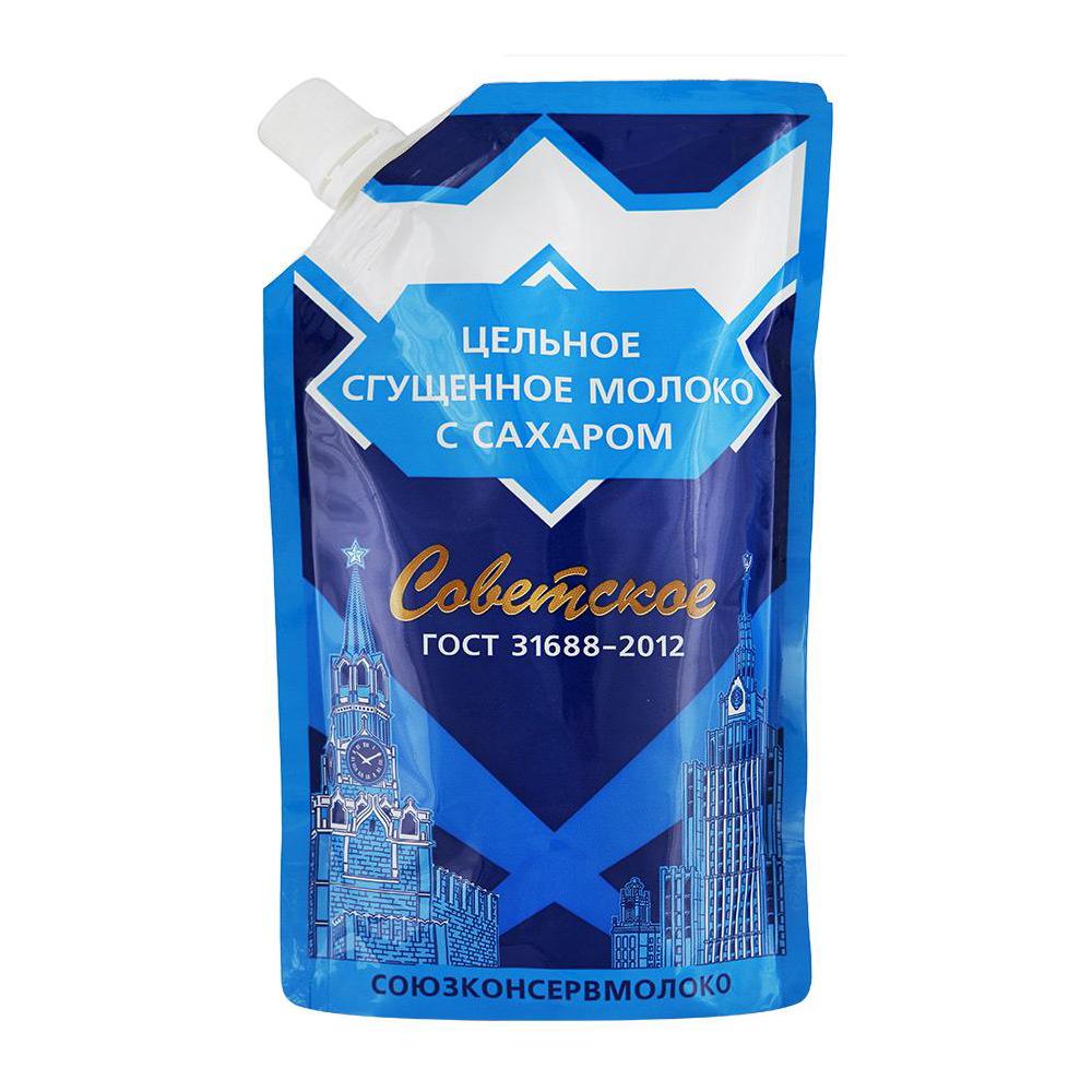 Soviet Condensed Milk, DoyPack, 270 g/ 0.60 lb