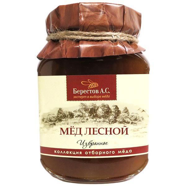 Natural Forest Honey (Berestov), 17.63 oz / 500 g