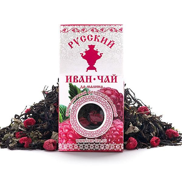 Ivan Tea with Raspberry, 1.77 oz / 50 g