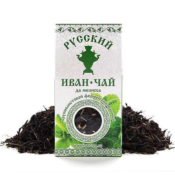 Ivan Tea with Melissa (Lemon Balm), 1.77 oz / 50 g