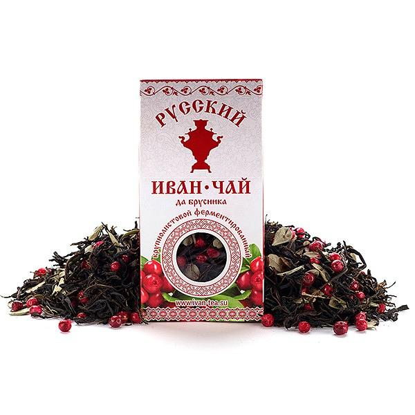 Ivan-Tea with Lingonberries, 1.77 oz / 50 g