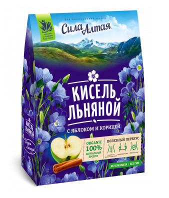 The Flax Kissel with Apple and Cinnamon, Specialist 5.3 oz / 150 g