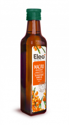 Sea Buckthorn Oil Natural Eco Vegan Tasty Health, Eleo, 8.5 fl oz / 250 ml
