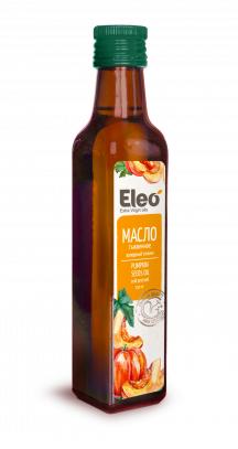 Pumpkin Oil Natural Eco Vegan Health, Eleo, 8.5 fl oz / 250 ml