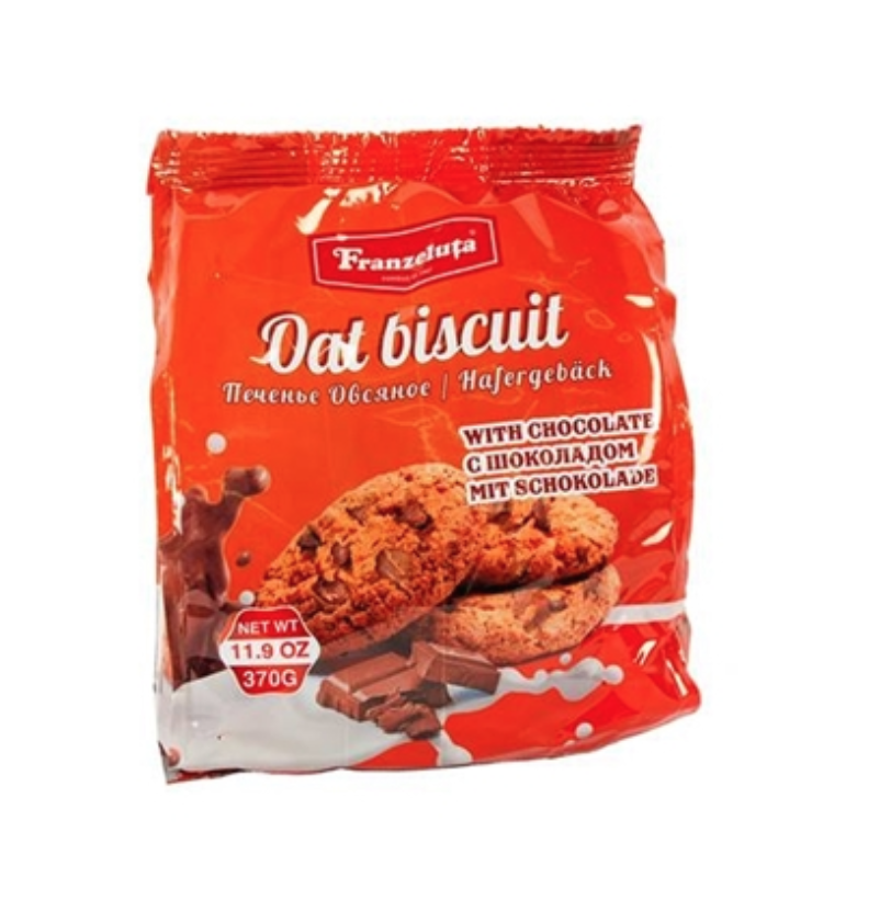 Oatmeal cookies with chocolate Franzeluta 11.9 oz /370 g