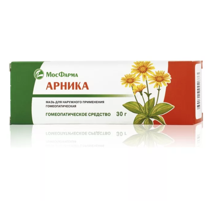 Arnica homeopathic ointment 1.06 oz/ 30 g